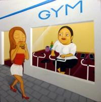No Pain No Gain - Painting by Waleska Nomura
