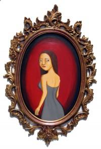 Triptych - Goodbye- Painting by Waleska Nomura