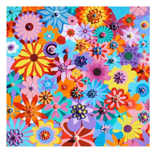 Flowers 2012 - Painting by Waleska Nomura