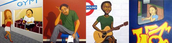 Paintings 2007-2009