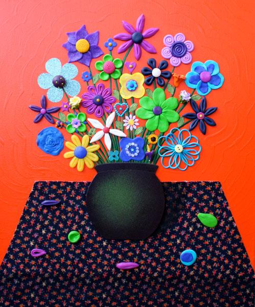 Still Life Orange - Painting by Waleska Nomura.
