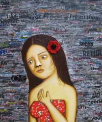 The Long Walk - Painting by Waleska Nomura.